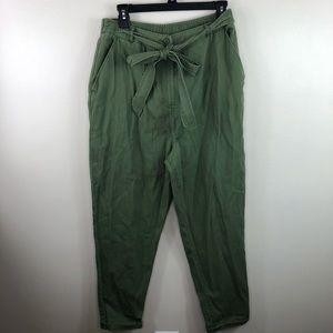 NWT ASOS green chino trouser pants size US 10